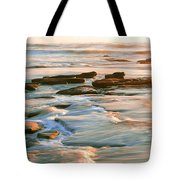 Rock Formations At Windansea Beach, La Tote Bag