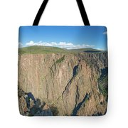 Rock Formations In Black Canyon Tote Bag