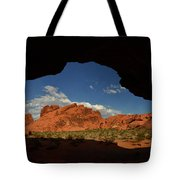 Rock Formations In The Valley Of Fire Tote Bag