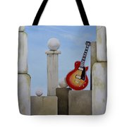 Rock Guitar Les Paul Custom Tote Bag