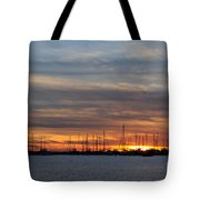 Rock Hall Sunset I Tote Bag