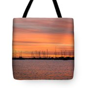 Rock Hall Sunset II Tote Bag