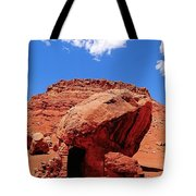 Rock House In Arizona Tote Bag