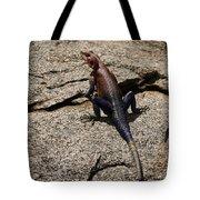 Rock Island Lizard   #8103 Tote Bag
