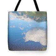 Rock Lake Alberta Canada And Willmore Wilderness Tote Bag