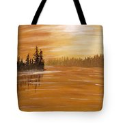 Rock Lake Morning 1 Tote Bag