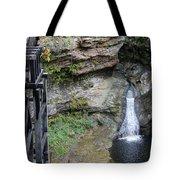 Rock Mill Water Fall In Ohio Tote Bag