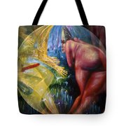 Rock 'n Roll Babe Captivates Tote Bag