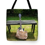 Rock N Roll Guitar In A Bag Tote Bag