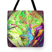 Rock 'n Roll In Crazy-gushing Colours Tote Bag