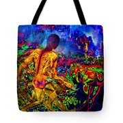 Rock 'n' Roll In The Rhythms Of Colours Tote Bag