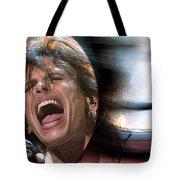 Rock N Roll Steven Tyler Tote Bag