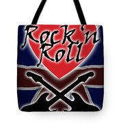 Rock N Roll Union Jack Tote Bag
