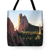 Rock Of Ages Tote Bag by Eric Glaser