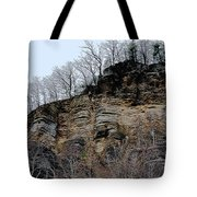 Rock Of Many Faces  Tote Bag