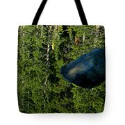 Rock Out Of Reflecting Lake Tote Bag