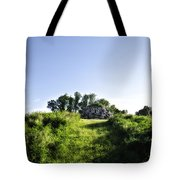 Rock Pyramid Tote Bag