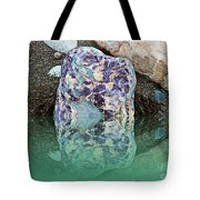Rock Reflections - Water - Beach Tote Bag
