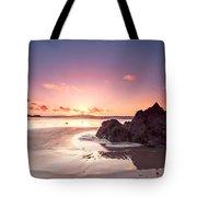 Rock Sunset 03 Tote Bag