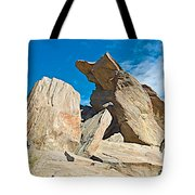 Rock Uplifts In Andreas Canyon In Indian Canyons-ca Tote Bag
