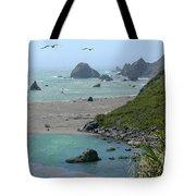 Rock West Coast Tote Bag by Mike McGlothlen