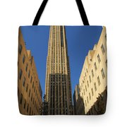 Ge Building  Tote Bag by Dan Sproul