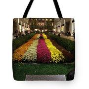 Rockefeller Center In Autumn Tote Bag