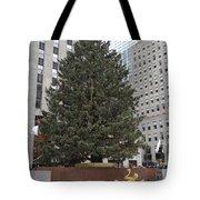 Rockefeller Christmas Tree Tote Bag