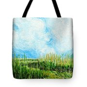 Rockefeller Coastal Marsh Louisiana  Tote Bag