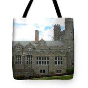 Rockefeller Hall Bryn Mawr Tote Bag