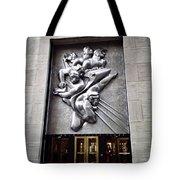 Rockefeller News Tote Bag