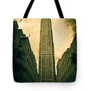 Rockefeller Tower Tote Bag