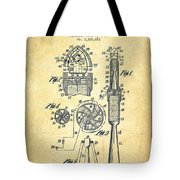 Rocket Apparatus Patent From 1914-vintage Tote Bag