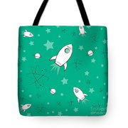 Rocket Science Green Tote Bag