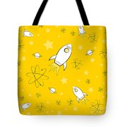 Rocket Science Yellow Tote Bag
