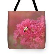 Rockin Pink Bee Tote Bag