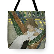 Rocking Baby Doll To Sleep Tote Bag
