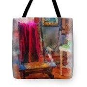 Rocking Chair Photo Art Tote Bag