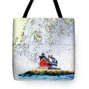 Rockland Breakwater Light Tote Bag