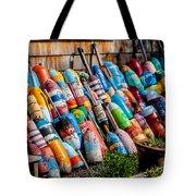 Rockport Flower Garden Tote Bag