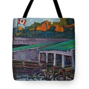 Rockport Roofs Tote Bag