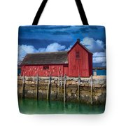 Rockports Motif Number 1 Painting Tote Bag