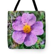 Rockrose Wild Flower Tote Bag