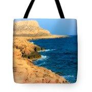 Rocks And Sea Tote Bag