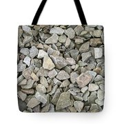 Rocks And Stones Texture Tote Bag