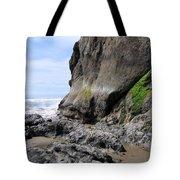 Rocks At Arcadia Beach Tote Bag