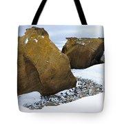 Rocks At Brown Bluff, Antarctica Tote Bag