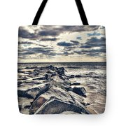 Rocks At Cape May Tote Bag