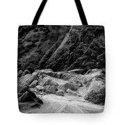 Rocks At Pt. Lobos Tote Bag