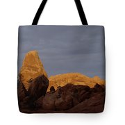 Rocks In Arches National Park Tote Bag